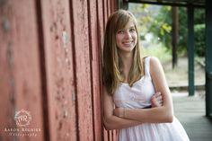 Senior Portrait photography outdoor female woman country temecula California barn Aaron Regnier Photography