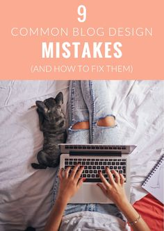 Common Blog Design Mistakes and How To Fix Them. For WordPress and Blogger! | angiemakes.com