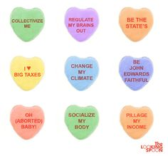 candy hearts for liberals