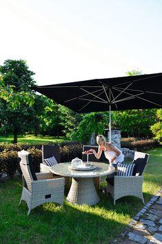 Zestaw mebli ogrodowych West Dininig marki MILOO. Zamieszkaj w ogrodzie. http://domotto.pl/c/77/west-kolekcje-meble-do-ogrodu.html