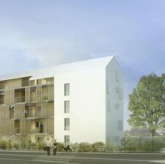 """Mené par ANMA, l'agence d'architecture Nicolas Michelin et Associés, """"Buildtog"""" est un projet de logement social de type passif qui sera construit en France, en Allemagne, en Suède et aux Pays-Bas."""