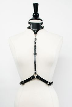 Image of Garter Collar Harness<br><i>**more colors </i>