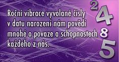 Soňa Sofi: NUMEROLOGIE - Osobní roční vibrační číslo Sony, Movie Posters, Horoscope, Film Poster, Billboard, Film Posters