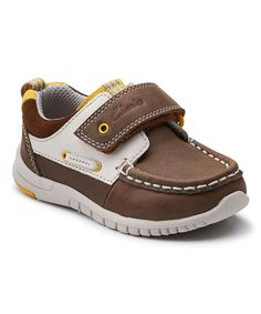 clarks baby deck shoes
