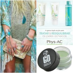 PHYS-AC ADERMA for acne or Oily Skin ▫ GO CORRECTIVE CONCEALER green W7 ▫ at www.glamssecret.com