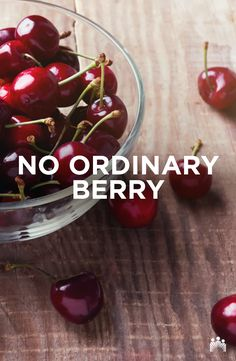 Packed with antioxidants, some research suggests cherries may contain anti-inflammatory qualities beneficial for conditions such as arthritis. A healthy reason to have some cherries today! Smart Snacks, Cherries, Eating Well, Arthritis, Conditioner, Nutrition, Fruit, Healthy, Food