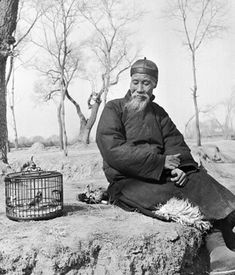 The Bird Fancier', photograph by Hedda Morrison, Peking, 1933-46.