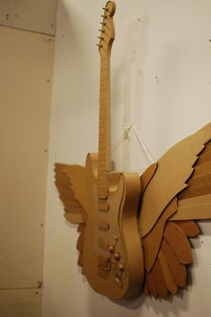 Cardboard winged-guitar | by atduskgreg