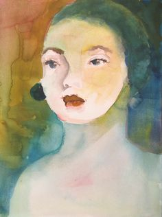 watercolor study...judy thorley
