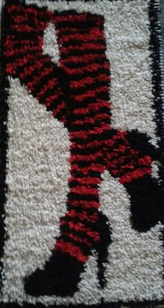 Small latch hook rug for my daughter :-)
