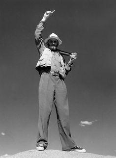 Ansel Adams by Imogen Cunningham, 1953