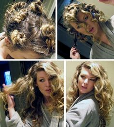 1000 ideas about overnight wavy hair on pinterest curly hair overnight finger waves short
