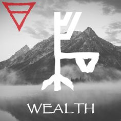 #bindrune Composition for acquiring wealth.