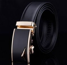 Men's Genuine Leather Designer Belt High Quality Luxury
