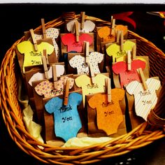 Baby Shower Favors - photo inspiration