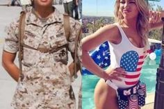 36 pics of beautiful girls with and without uniform will shock you. Check out sports girls, military girls, doctor etc. with uniform and without uniform giving hot posture. Mädchen In Uniform, Female Soldier, Female Marines, Fashion Fail, Military Girl, Military Women, Fishing Girls, Girls Uniforms, Badass Women
