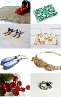 Serene Spring by Handmade Covers on Etsy--Pinned with TreasuryPin.com