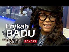 Erykah Badu at The Breakfast Club | Being A Recluse, Mixtape, Jay Electr...
