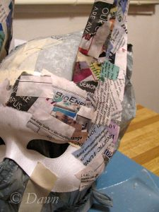 DIY Anubis headdress