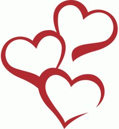 Download Free SVG | Hearts (The site it's from has loads of free ...
