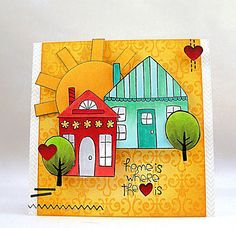 Penny Black stamps by Jill Foster, www.stampinginspiredby.blogspot.com