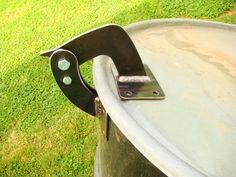 UDS Lid Hinge Heavy Duty Steel installation hardware included Ugly Drum Smoker #BBQgasketscom