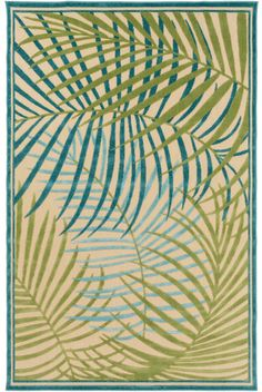 Constructed for indoor or outdoor use, these perfectly tropical inspired accent rugs offer both texture and timelessness to any room in your home!