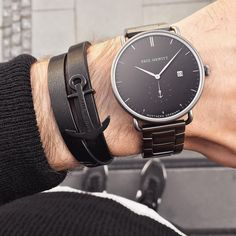 Casual Watches, Watches For Men, Men's Accessories, New Week, Armband, Business Casual, Get The Look, Luxury Watches, Anchor