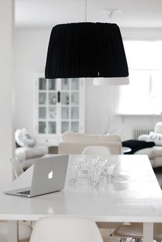 Dining and workspace. Light and bright.