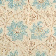 Soane - Palampore Blossom - Palampore Blossom was inspired by a wonderful 18th century Indian Palampore. A palampore is a type of hand painted bedcover, traditionally produced in India for European colonists. Each palampore would take hours to create due to a very complex and elaborate patterns depicting a wide variety of plants, flowers and animals. The fanciful flowers and leaves often seen in Indian textiles made for the European market arose from the Indians re-interpratation of…