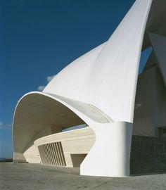 Auditorio de Tenerife by Santiago Calatrava. Photo courtesy of Santiago Calatrava, LLC.