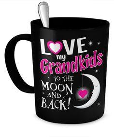 Love My Grandkids To The Moon and Back Mug