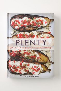 Plenty: Vibrant Vegetable Recipes From London's Ottolenghi  London chef Yotam Ottolenghi presents a sumptuous collection of 120 vegetable recipes rooted in his Mediterranean heritage #anthropologie