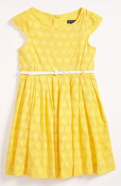 Pumpkin Patch Polka Dot Dress (Little Girls & Big Girls)   Nordstrom
