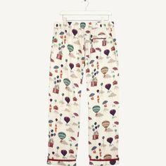 Fat Face Womens Nightwear - prints by Rhiannon Southwell