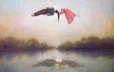 casal-flutuando-representando-passar-do-tempo