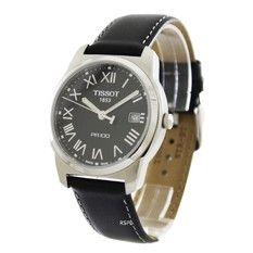 Tissot T-Classic PR 100 Quartz Men's Leather Strap Watch T049.410.16.053.01