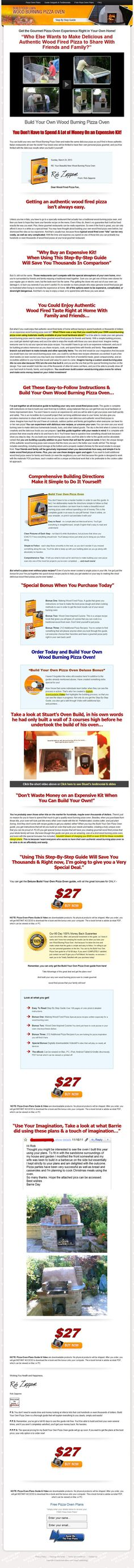 How To Prevent  Build Your Own Wood Burning Pizza Oven  Promotional Codes If it does not show. Please click on the blue square or link. Check Money Back Guarantee  [Build Your Own Wood Burning Pizza Oven] So you are Completely Secured Cash Back Promise You are also secured Resources Again Assure so your buy is chance totally free and you are safe. In circumstance you do n...