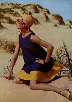 Sundress L'officiel magazine 1967