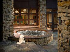 Spa Bathtub, natural stone