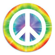 1960's party ideas | Click for larger picture of PEACE SIGN CUTOUT PARTY SUPPLIES