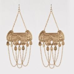My jewelry stand can hold another pair, right? I mean, these are Taj Chandelier Earrings!