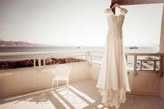 wedding dress sunrise