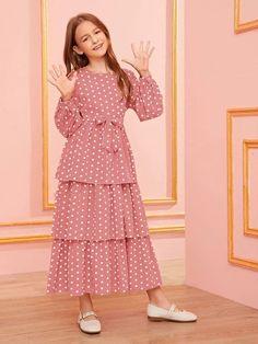 Stylish Dresses For Girls, Frocks For Girls, Stylish Dress Designs, Little Girl Dresses, Cute Dresses, Girls Dresses, Dress Designs For Girls, Girls Designer Dresses, Dresses Dresses