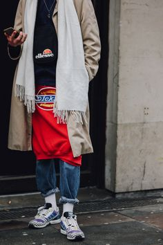 The Best Street Style From London's Fall 2017 Men's Shows | Sweats | #whatwecovet