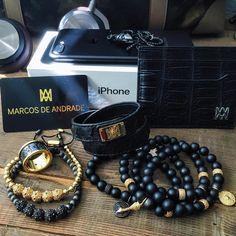 #Iphone7plus the genuine crocodile card holder and #MarcosdeAndrade jewelry | #NotForTheOrdinary