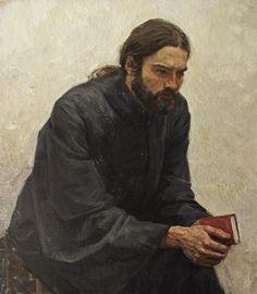 Монах (Monk) - Alexander Kosnichev (Russian, b. 1972)