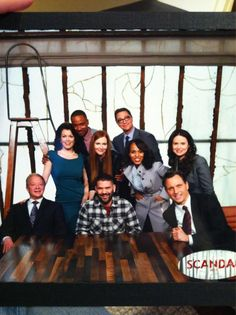 The cast (SCANDAL)
