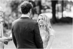 Tricia McCormack Photography captured this lovely, intimate #wedding @triciaphoto