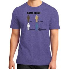Same Crime District T-Shirt (on man)